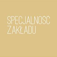 Logotyp Specjalność Zakładu
