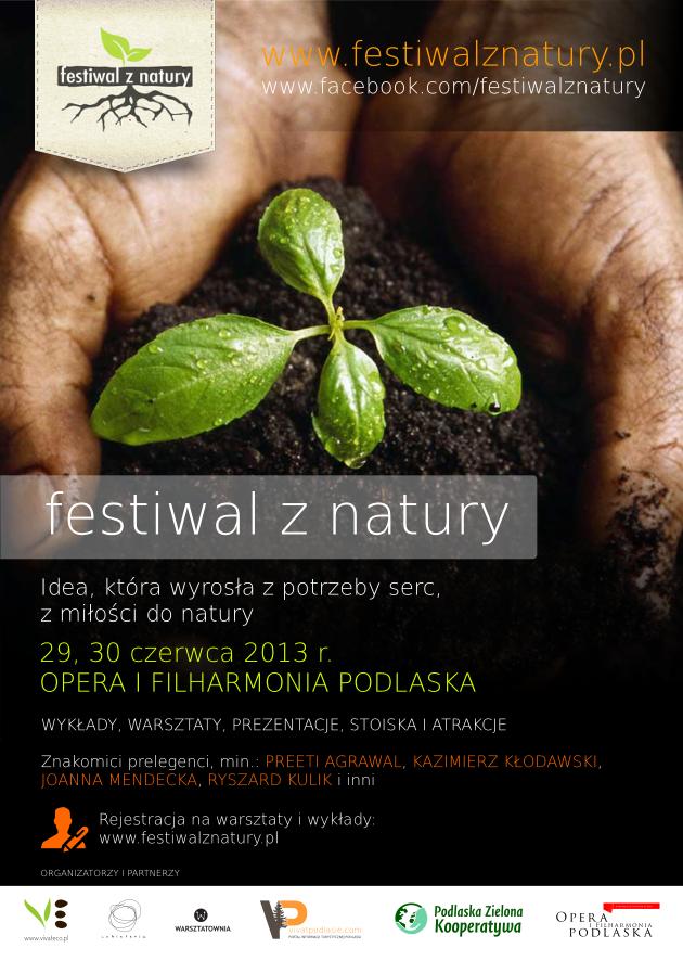Plakat Festiwal z Natury
